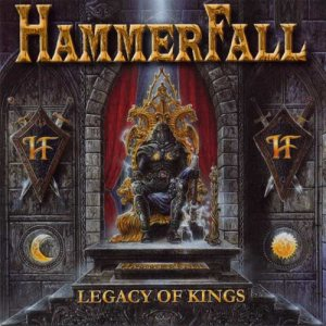 Hammerfall - Legacy of Kings cover art