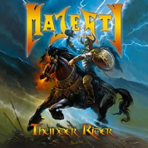 Majesty - Thunder Rider cover art