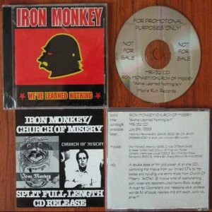 Iron Monkey / Church of Misery - Iron Monkey / Church of Misery cover art