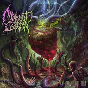 Maggot Colony - Spewing the Violated Souls cover art