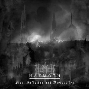 Haemoth - Vice, Suffering and Destruction cover art
