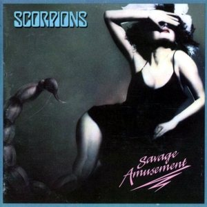 Scorpions - Savage Amusement cover art