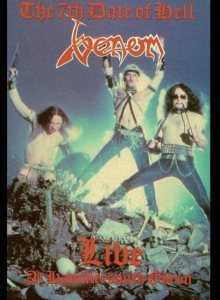 Venom - The 7th Date of Hell - Venom Live at the Hammersmith Odeon cover art