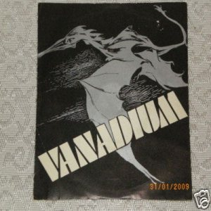 Vanadium - We Want Live Rock n' Roll cover art