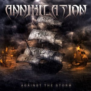 Annihilation - Against the Storm cover art