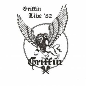 Griffin - Live '82 cover art