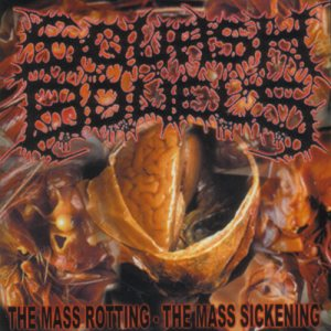 Squash Bowels - The Mass Rotting-The Mass Sickening cover art
