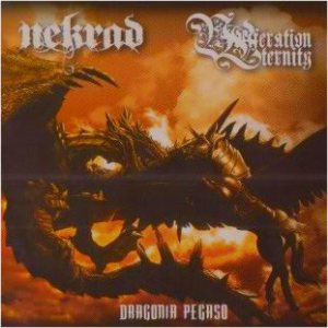 Vociferation Eternity / Nekrad - Dragonia Pegaso cover art