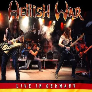 Hellish War - Live in Germany cover art