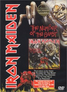 Iron Maiden - Classic Albums: the Number of the Beast cover art