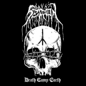 Szron - Death Camp Earth cover art