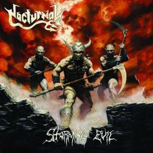 Nocturnal - Storming Evil cover art