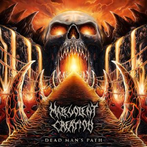 Malevolent Creation - Dead Man's Path cover art