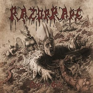 RazorRape - Orgy in Guts cover art