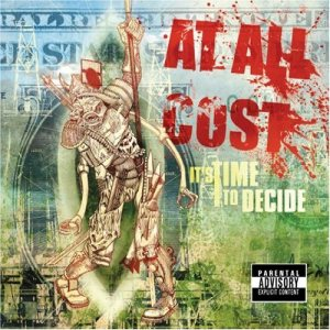At All Cost - It's Time to Decide cover art