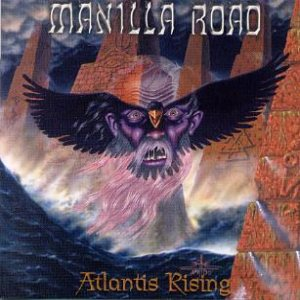 Manilla Road - Atlantis Rising cover art