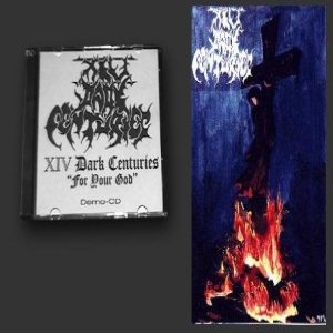 XIV Dark Centuries - For Your God cover art