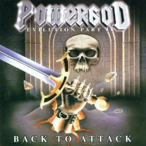 Powergod - Back to Attack - Evilution Part II cover art