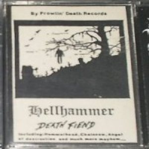 Hellhammer - Death Fiend cover art