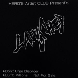LawShed - Don't Urge Disorder/Dumb Millions cover art