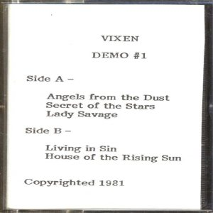 Vixen - Demo 1 cover art