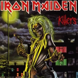 Iron Maiden - Killers cover art