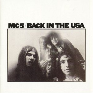 MC5 - Back in the USA cover art