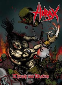Hirax - Thrash and Destroy cover art