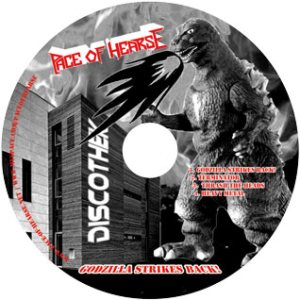 Pace of Hearse - Godzilla Strikes Back! cover art