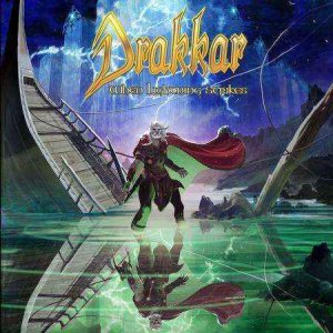 Drakkar - When lightning strikes cover art
