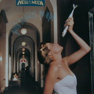 Helloween - Pink Bubbles Go Ape cover art