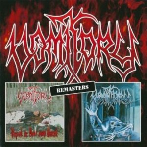 Vomitory - Raped in Their Own Blood / Redemption cover art