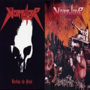 Vomitor - Bleeding the Priest cover art