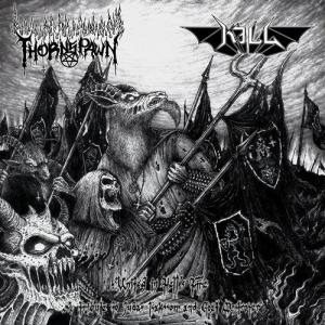 kill - United in Hell's Fire - Tribute to Goat Destroyer and Judas Isaksson cover art