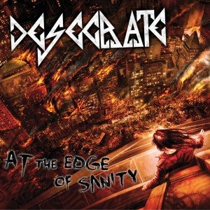 Desecrate - At the Edge of Sanity cover art