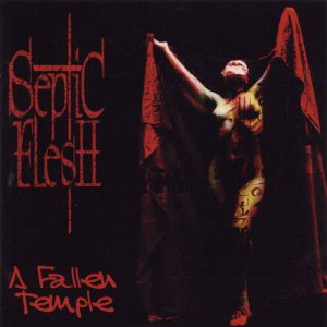 Septic Flesh - A Fallen Temple cover art