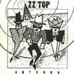ZZ Top - Antenna cover art