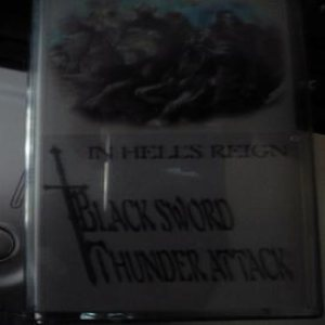 Black Sword Thunder Attack - In Hell's Reign cover art