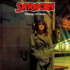 Saracen - Change of Heart cover art