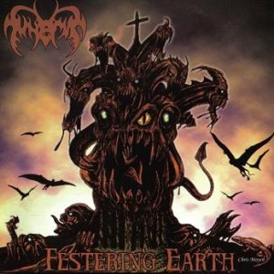 Funerus - Festering Earth cover art