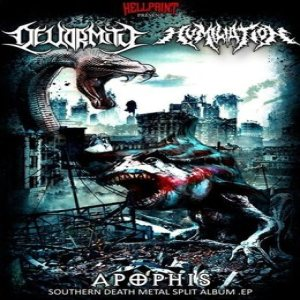 Humiliation / Devormity - Apophis cover art