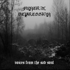 Funeral Depression - Voices From the Sas Souls cover art