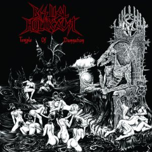 Bestial Holocaust - Temple of Damnation cover art