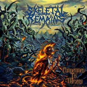 Skeletal Remains - Condemned to Misery cover art