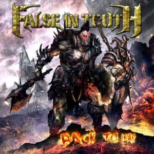 False in Truth - Back to War cover art
