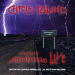 Chris Poland - Return to Metalopolis Live cover art