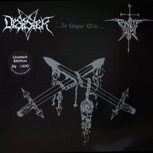 Desaster - Desaster in League with Pentacle cover art