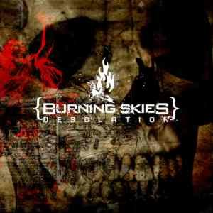 Burning Skies - Desolation cover art