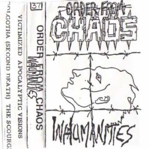 Order From Chaos - Inhumanities cover art