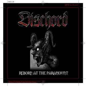 Dischord - Reborn at the Paramount cover art